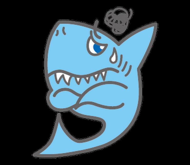 まいったサメ