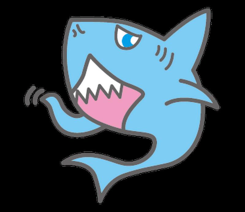 聞いてないサメ